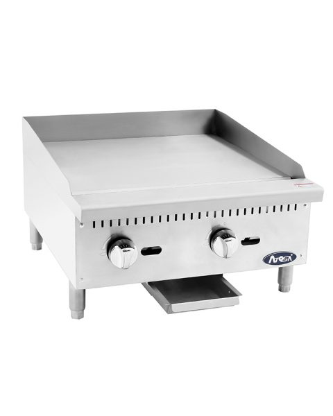 "ATMG-24 HD 24"" Manual Griddle"