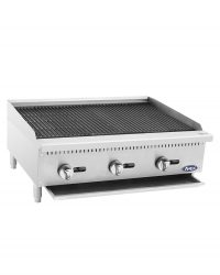 "ATCB-36 HD 36"" Char-Rock Broiler"