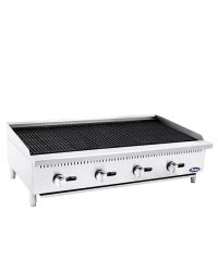 "ATCB-48 HD 48"" Char-Rock Broiler"